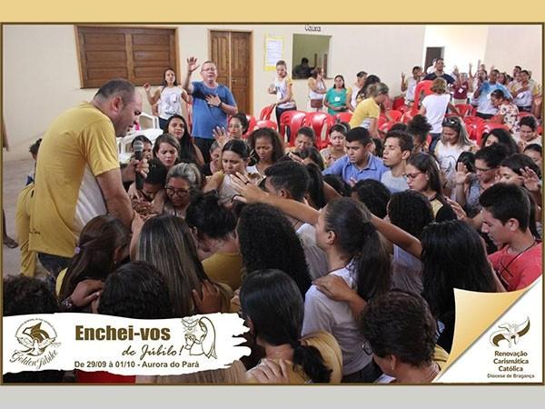 ENCHEI-VOS DE JÚBILO EM AURORA DO PARÁ - DIOCESE DE BRAGANÇA