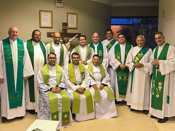 PADRE PEDRO PARTICIPA DA REUNIÃO NACIONAL DO MINISTÉRIO CRISTO SACERDOTE