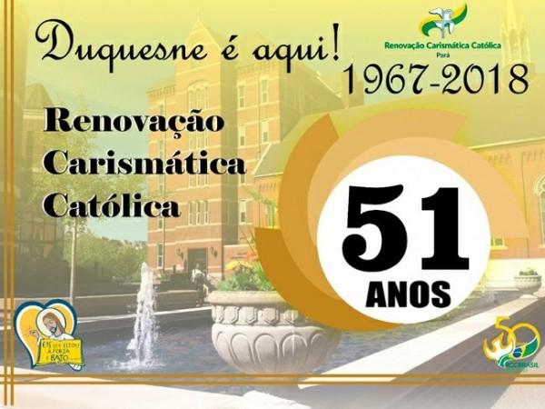 51 ANOS DA RCC NO MUNDO